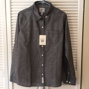 Roots XL Button Down Shirt
